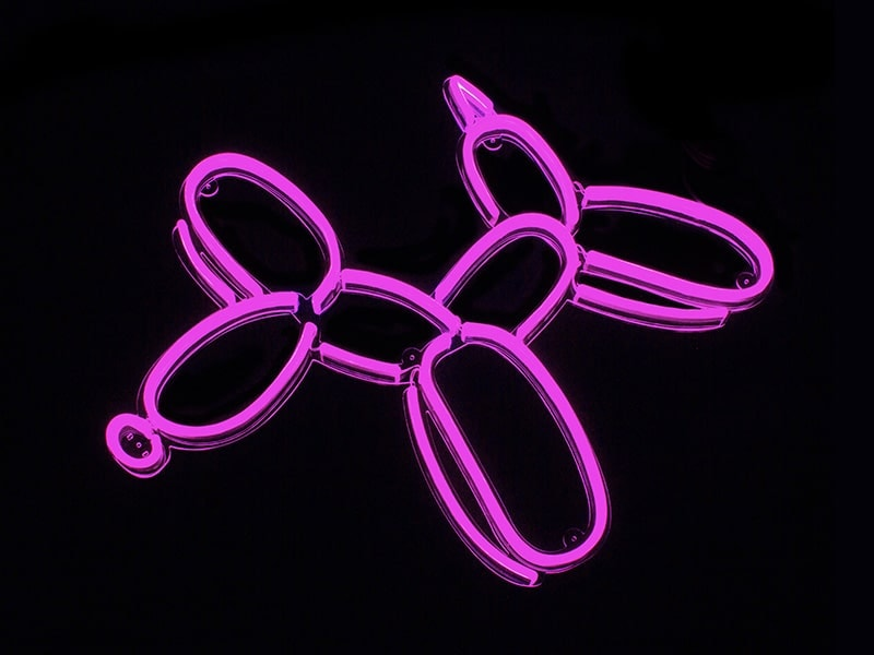 customize pink neon light signs for home and wedding