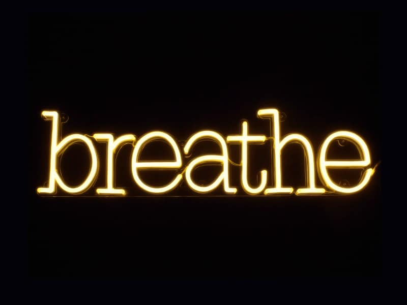 Breathe Neon Sign Cheap Custom Neon Sign For Office House And Event