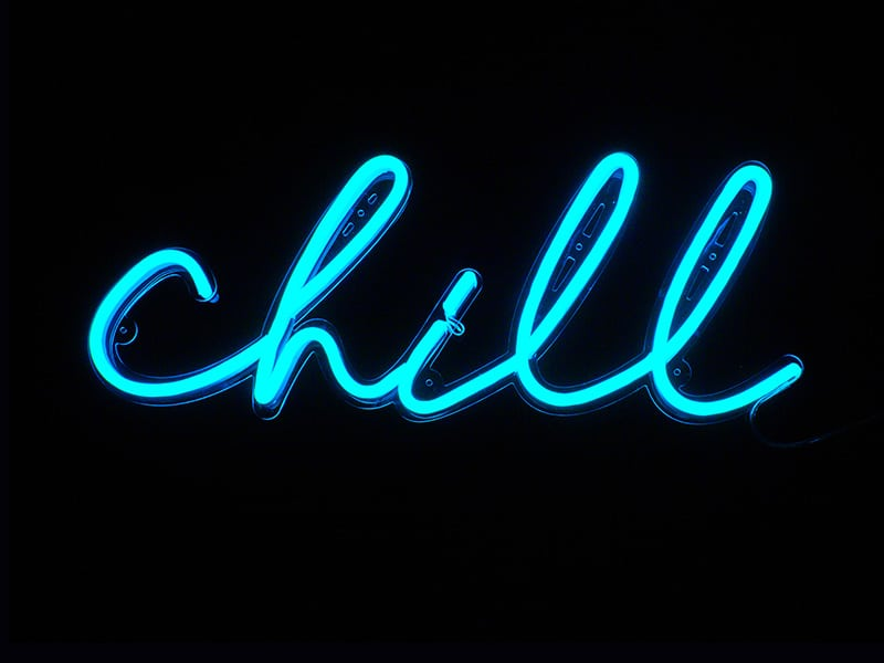 best custom neon signs for gifts, office and home chill neon sign