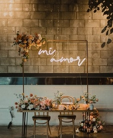 wedding custom neon sign