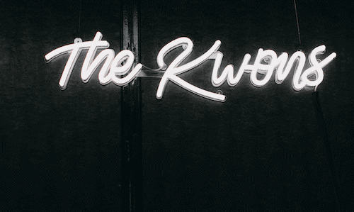 The Kwons neon sign