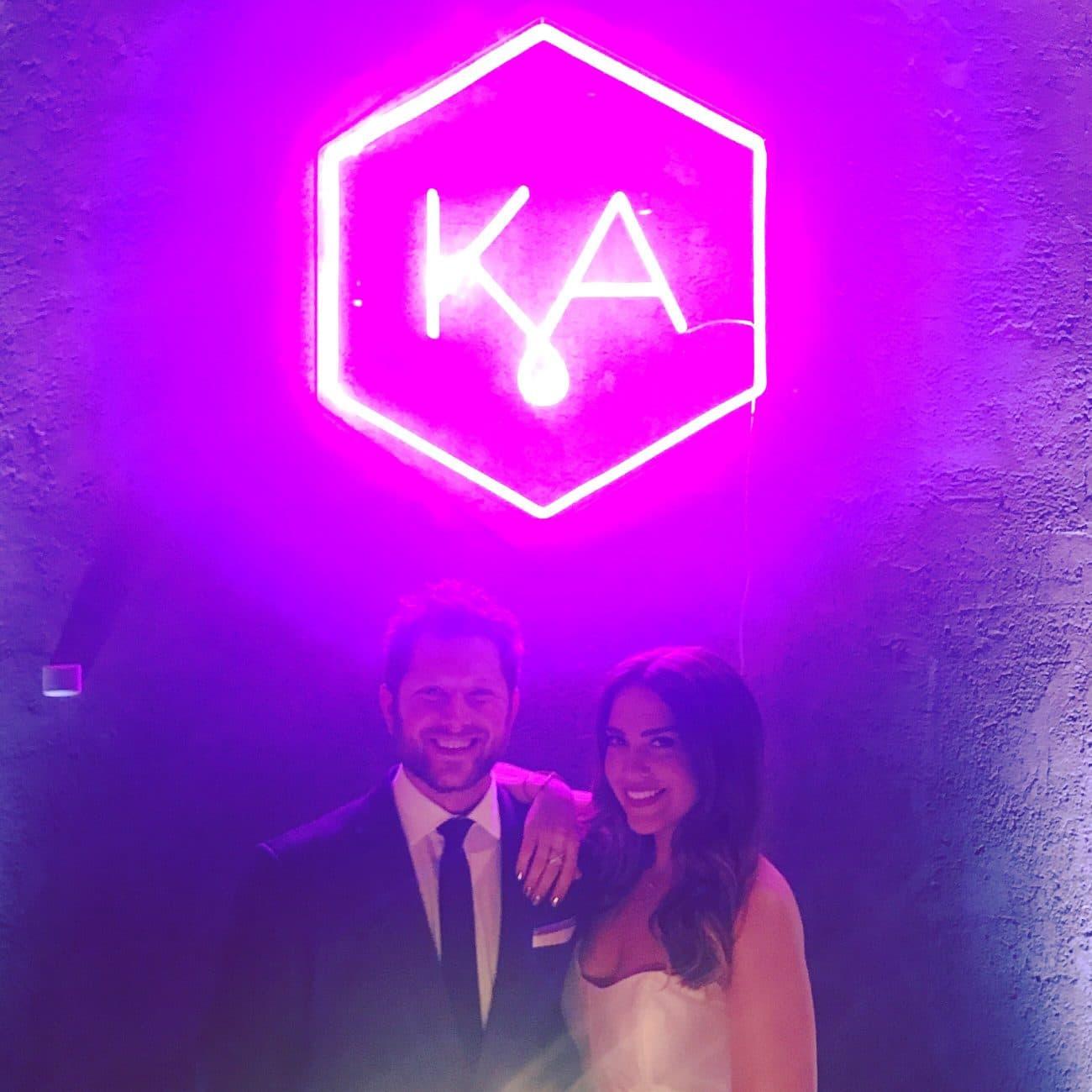 KA neon sign