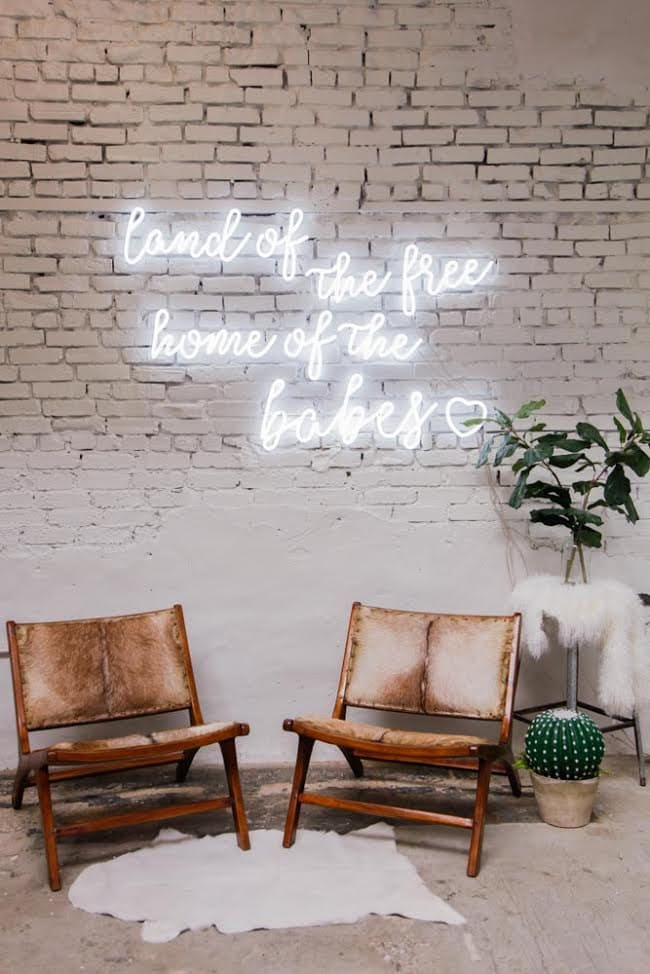 Best Handmade Neon Signs, Custom Neon Sign — Echo Neon Studio