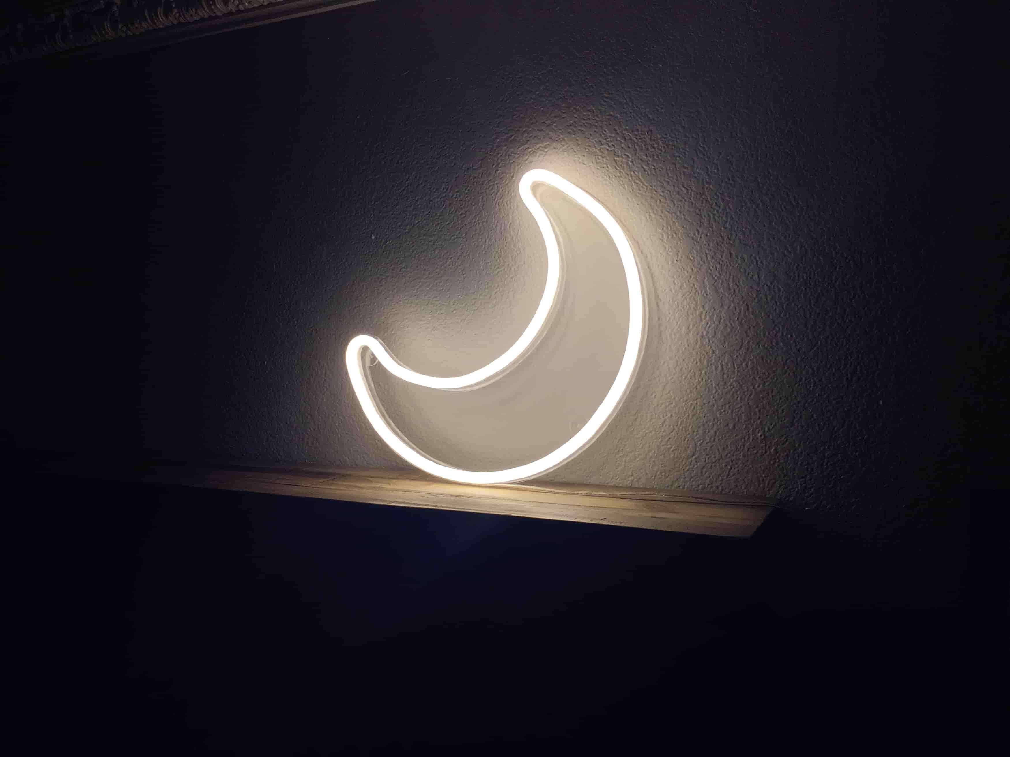 echoneon moon neon signs