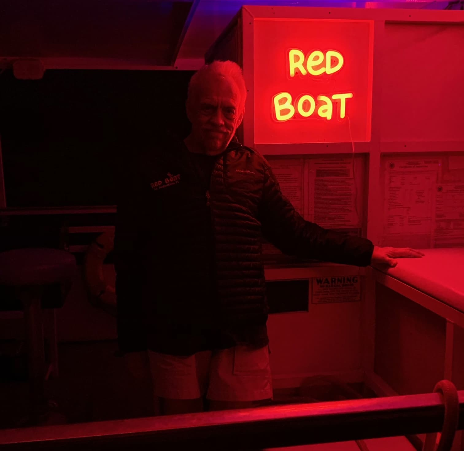 red neon signs