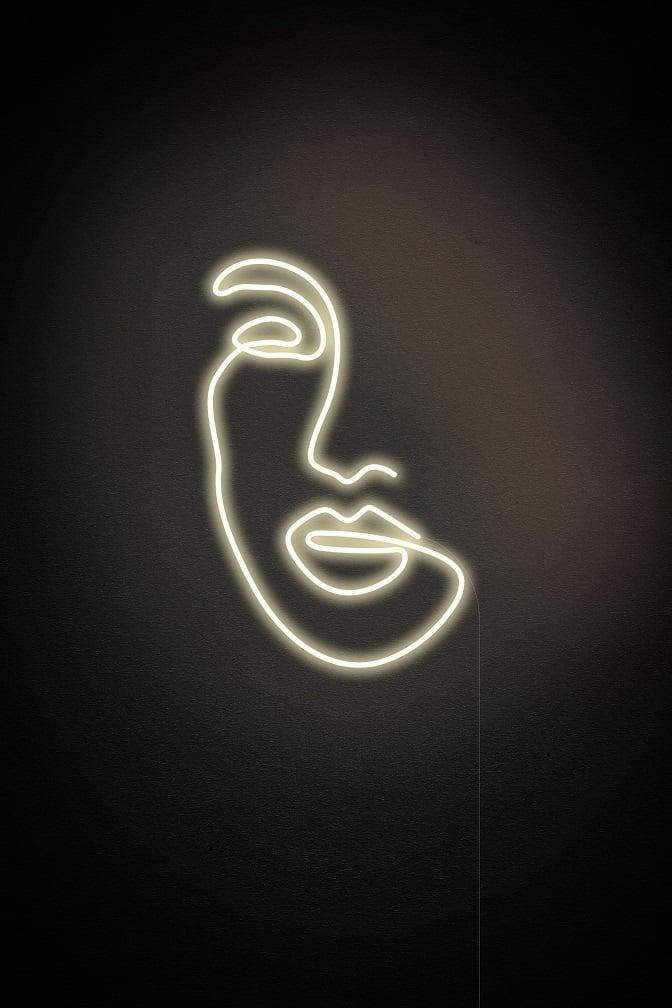 designer neon sign
