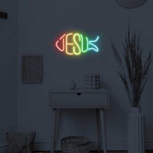 jesus neon sign2