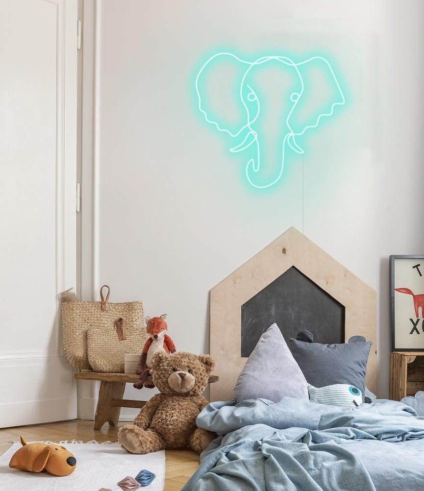 Nursery neon sign