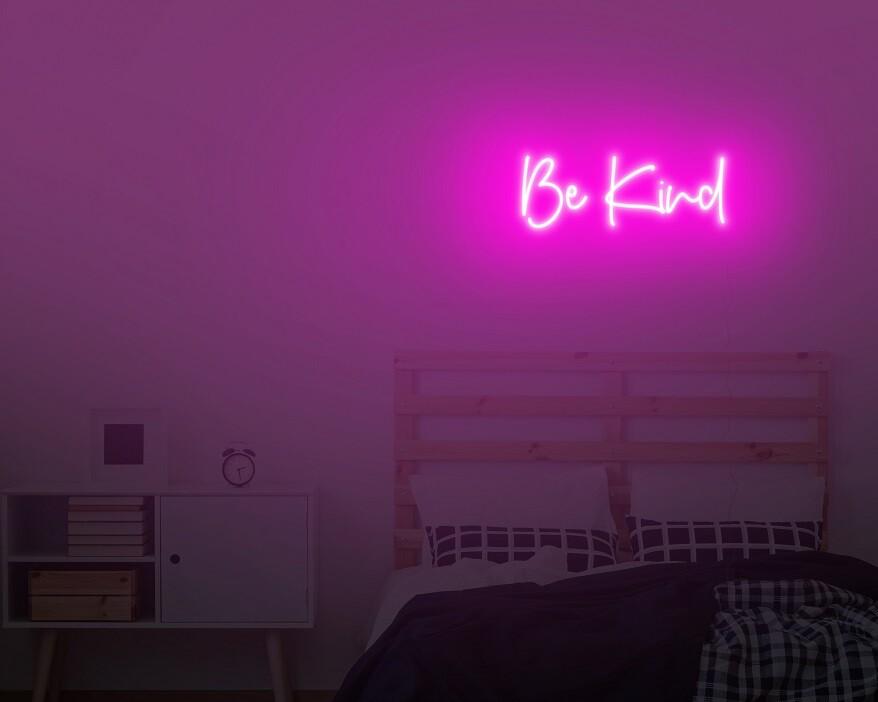 bedroom custom neon light