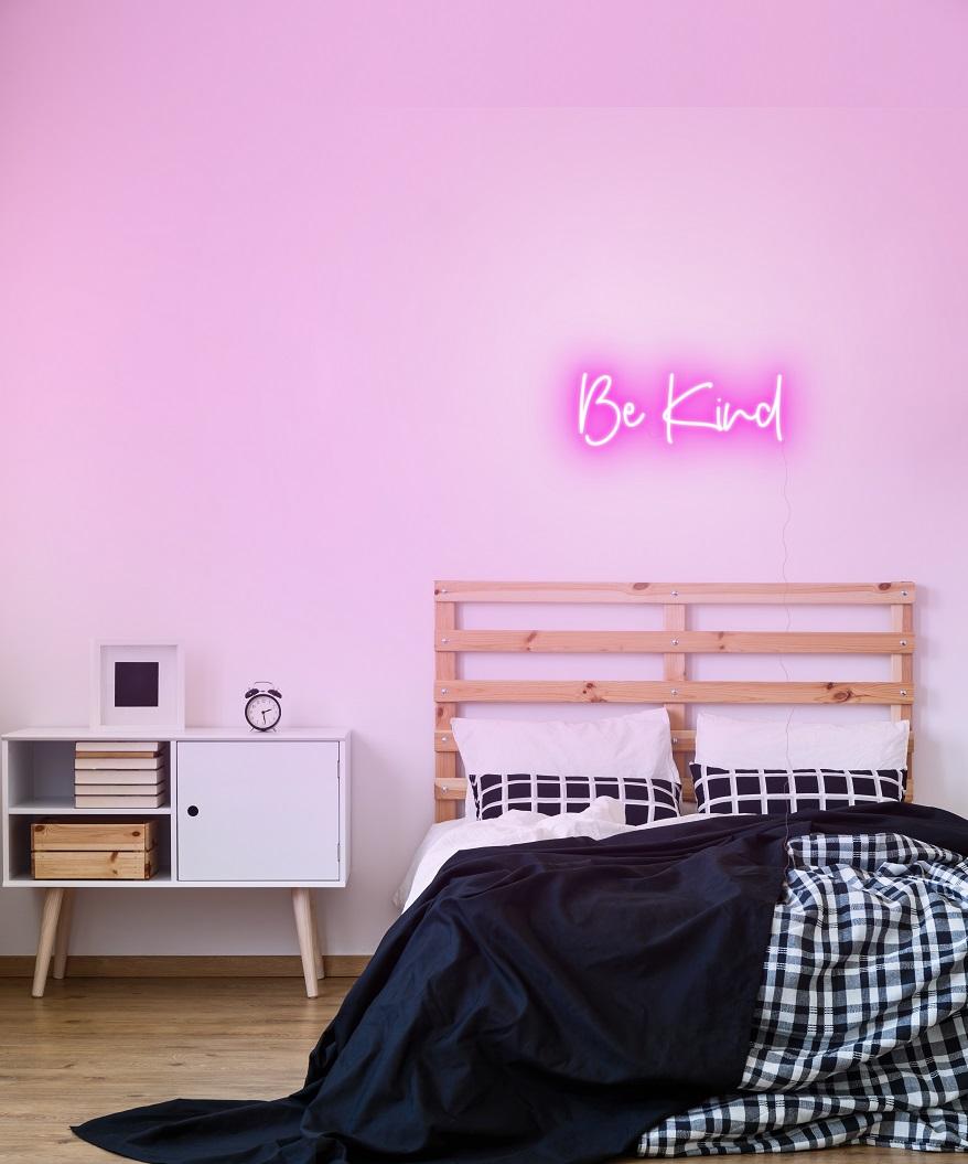 bedroom neon light
