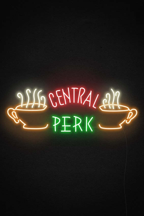central perk neon signs