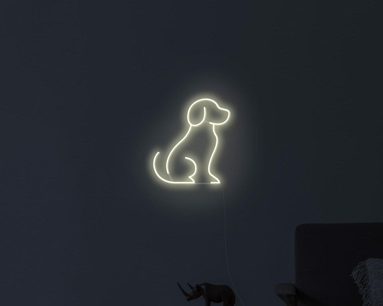 puppy neon lights