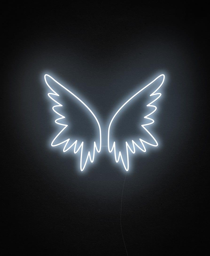 wing custom neon sign