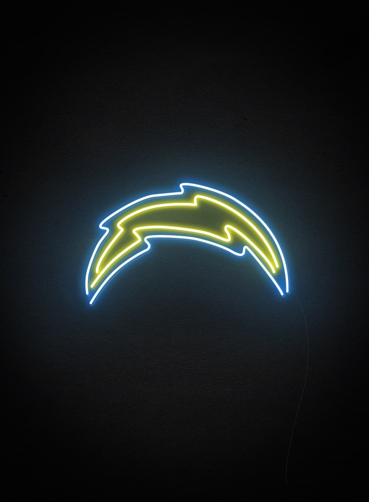 NFL custom neon