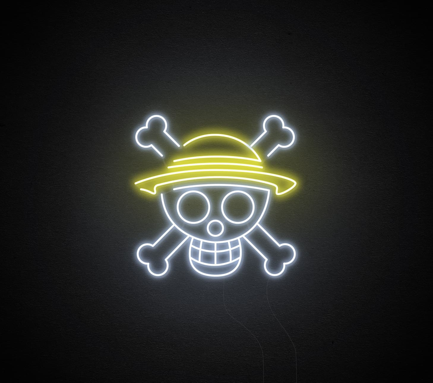 One Piece neon sign