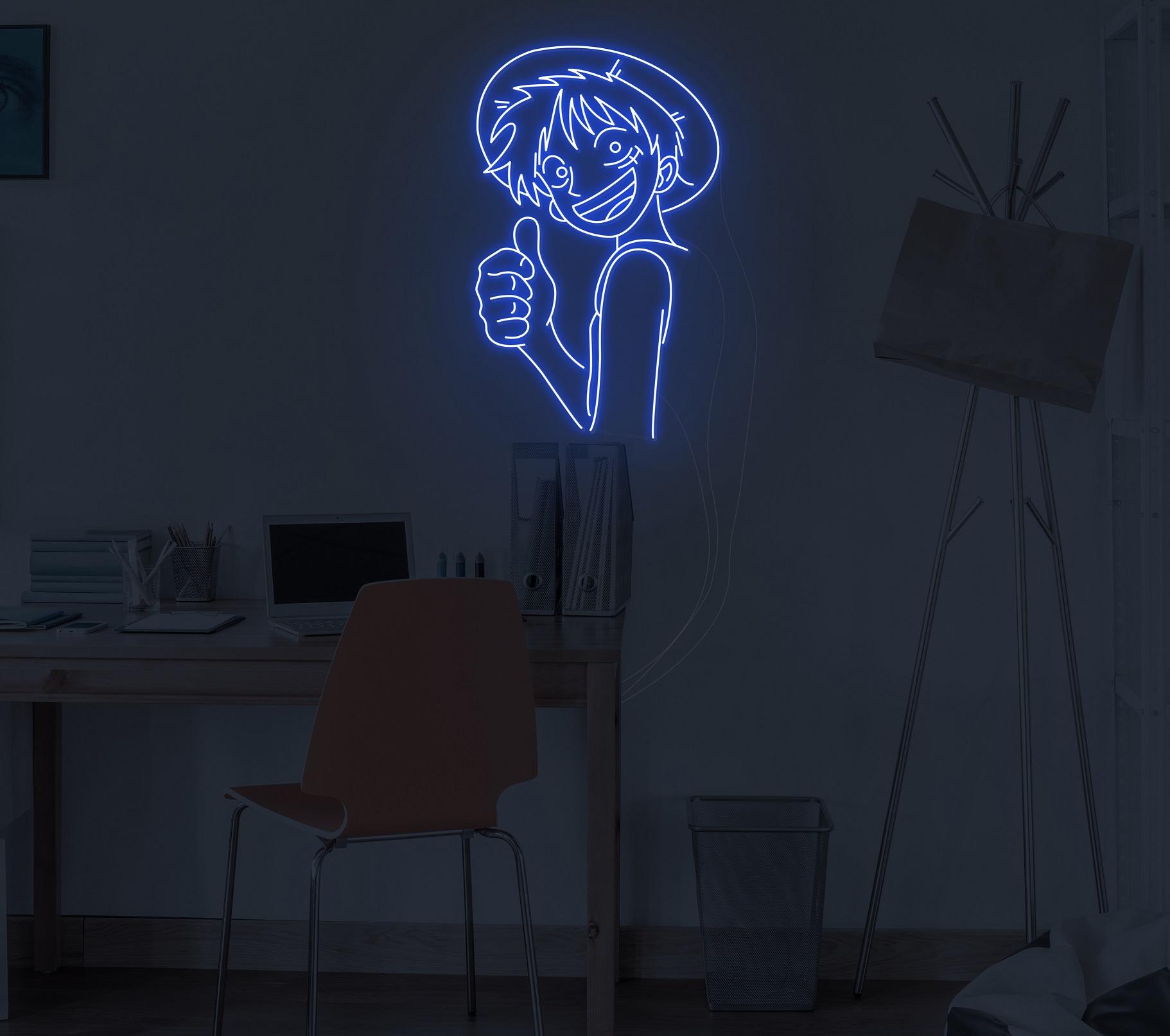 anime neon light