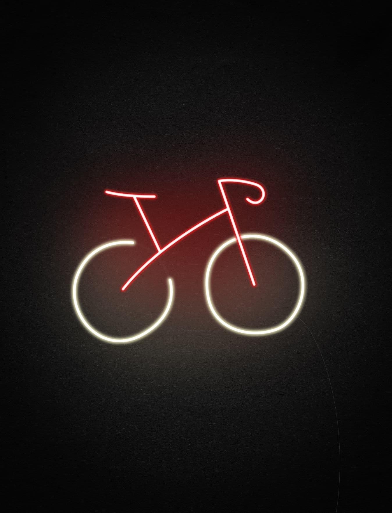 bike custom neon sign
