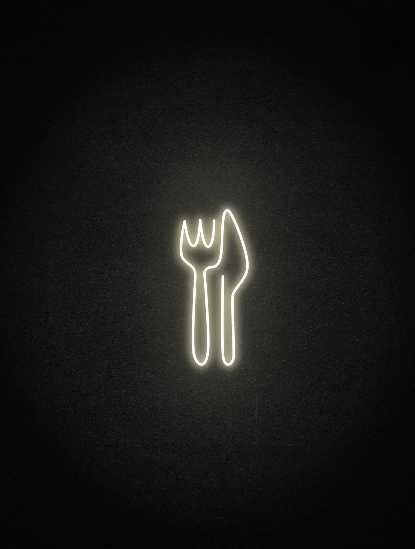 cafe neon light