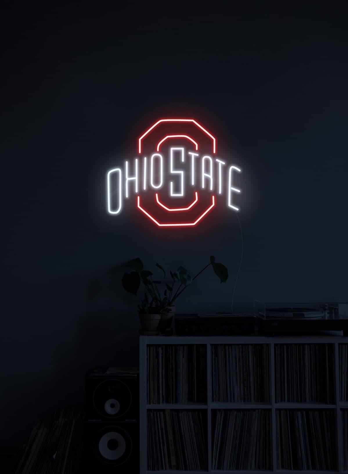 football custom neon