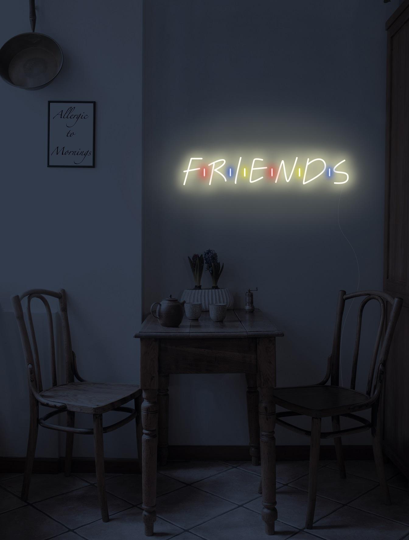 friend neon sign