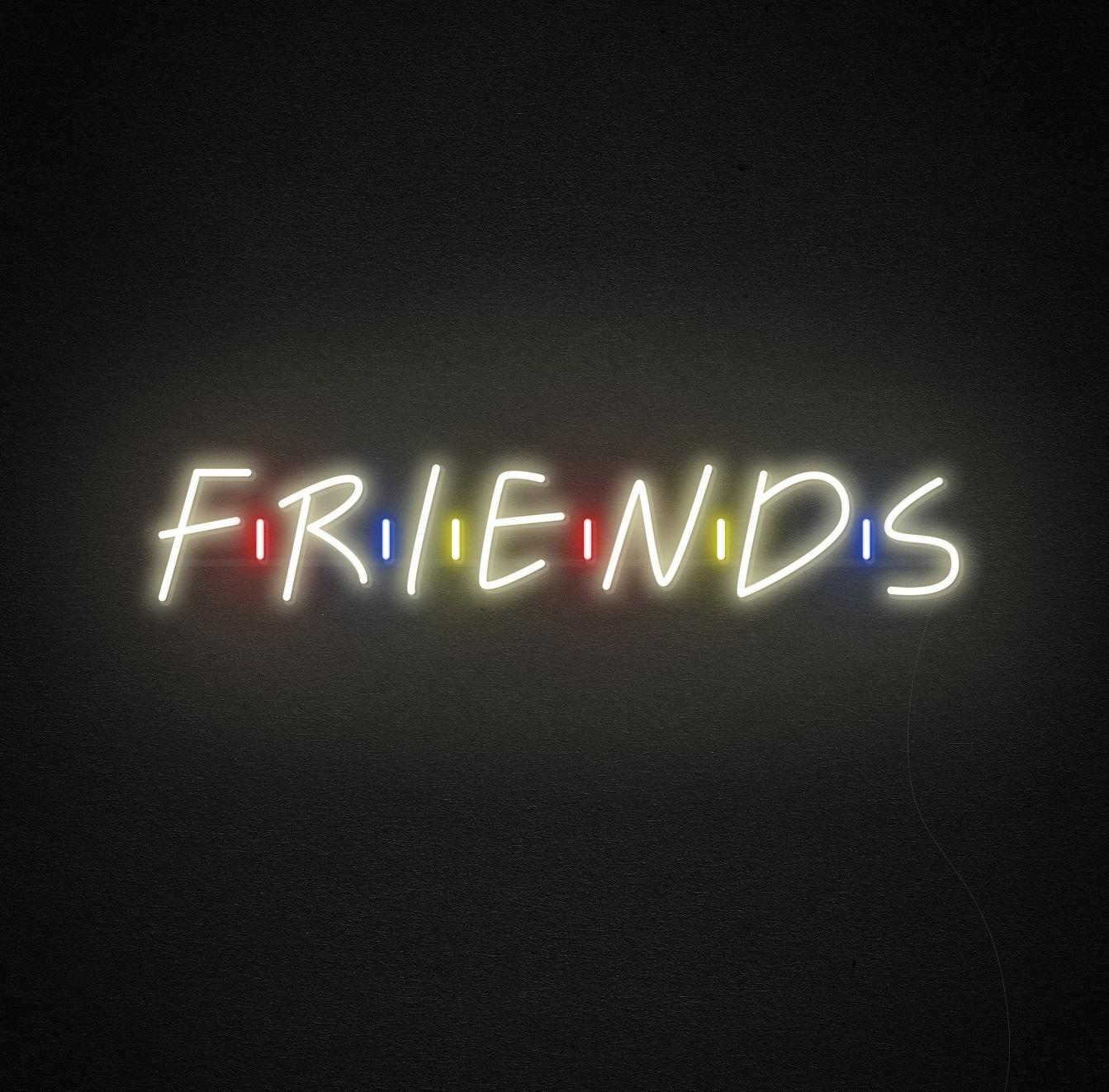 friends neon light