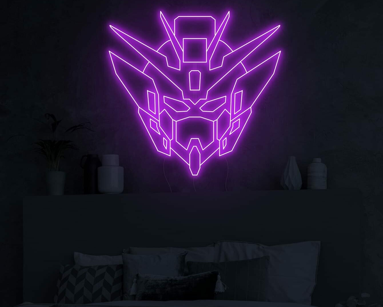 gundam neon signs