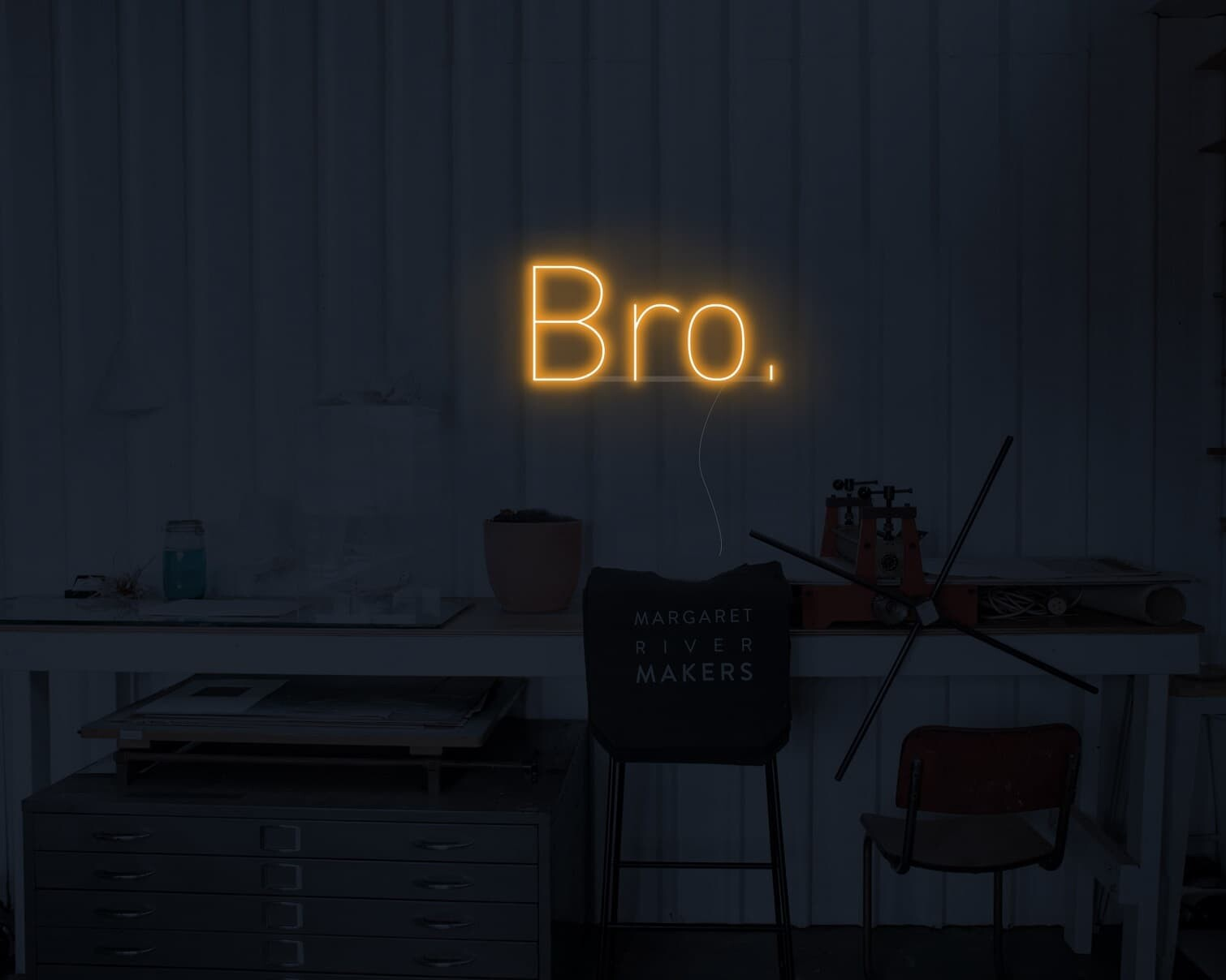 man cave neon light
