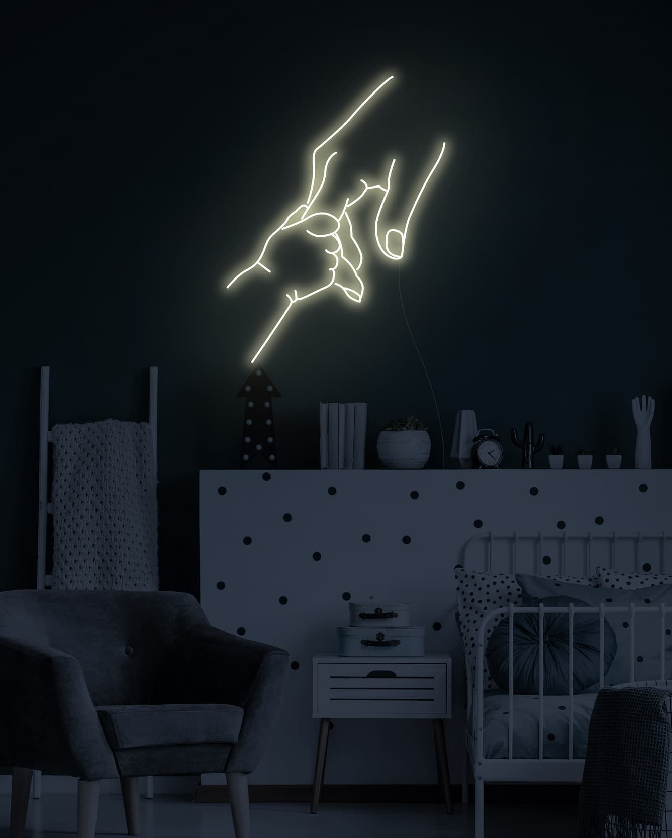 nursery custom neon