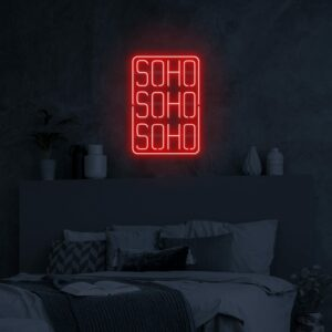 soho neon light