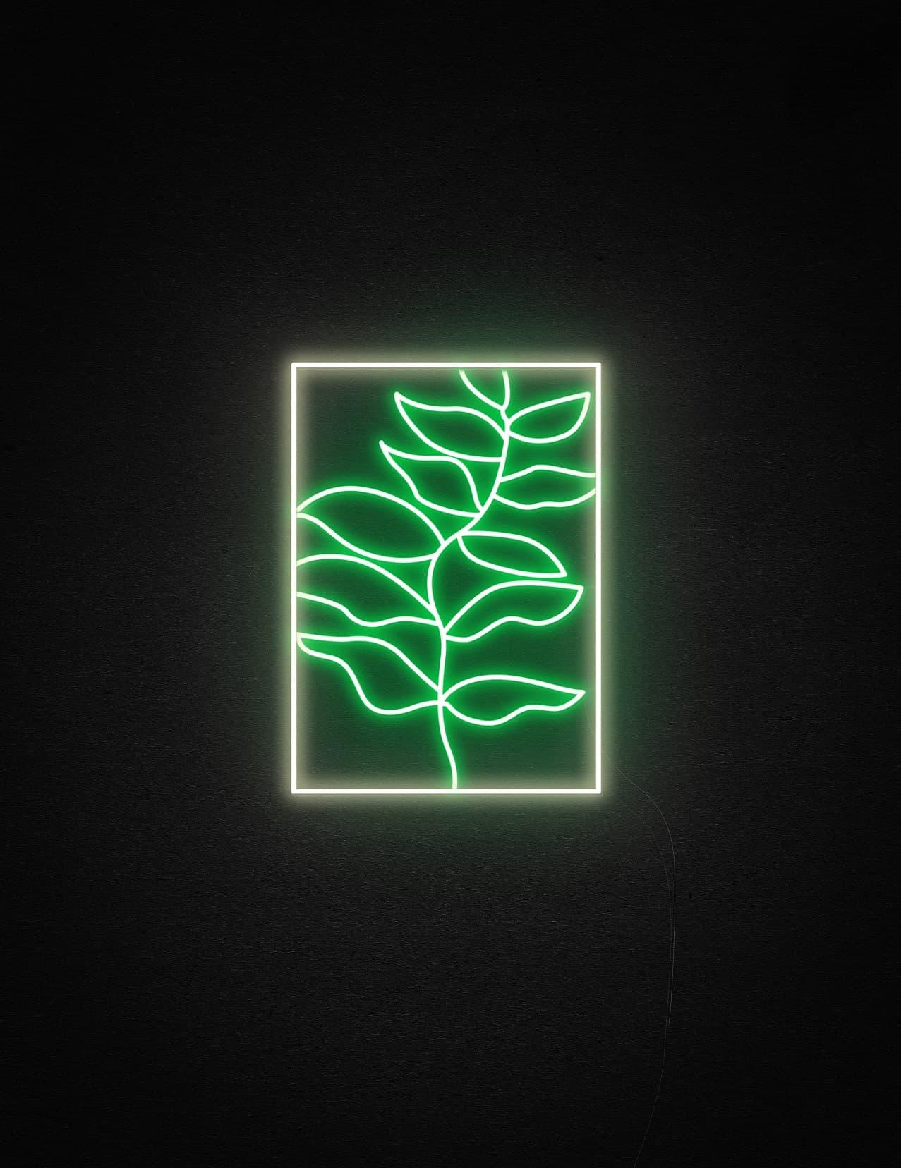 wall paint custom neon light