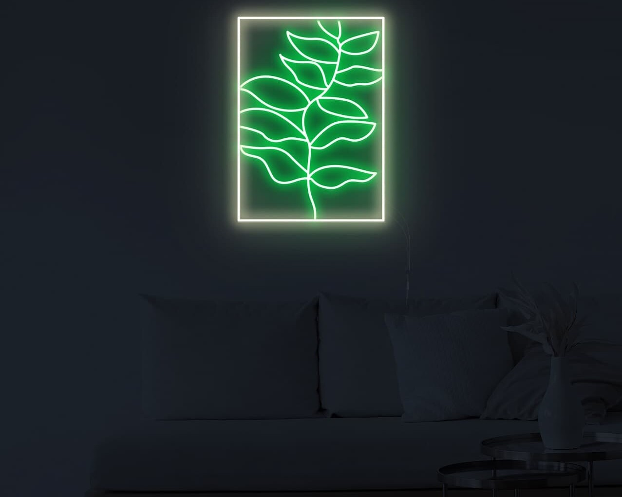 wall paint neon signs