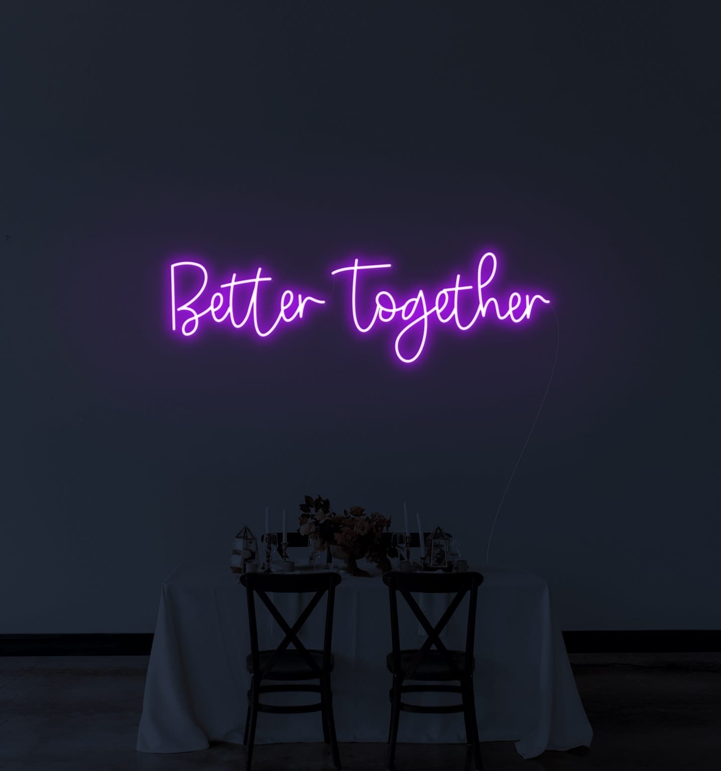 better together neon signs