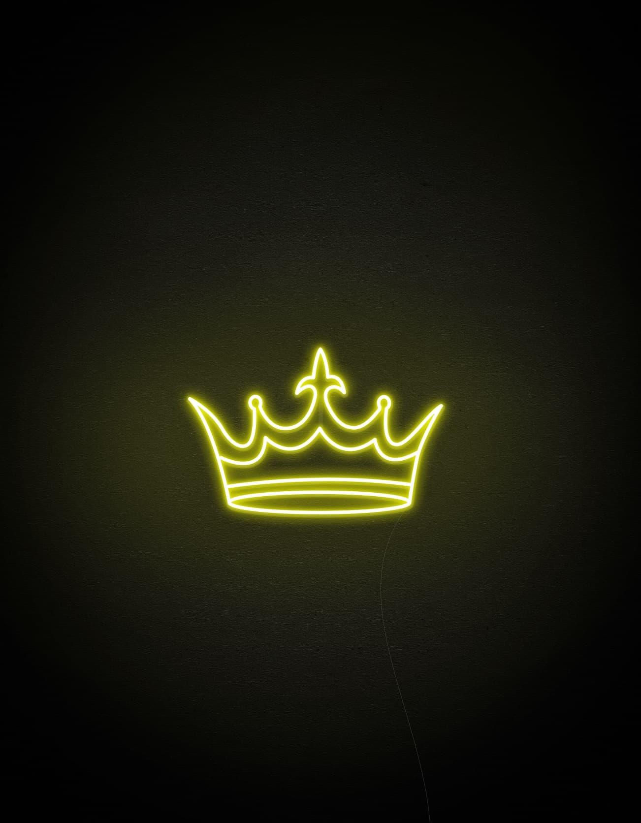 crown neon light