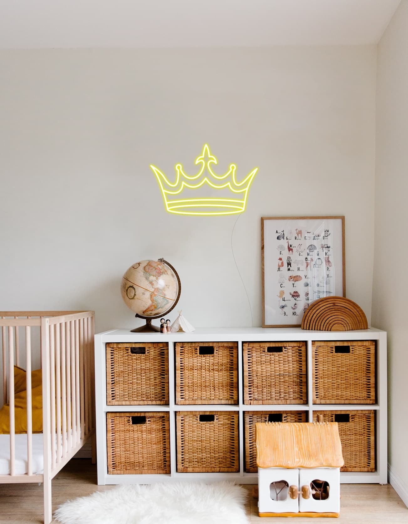 crown neon signs