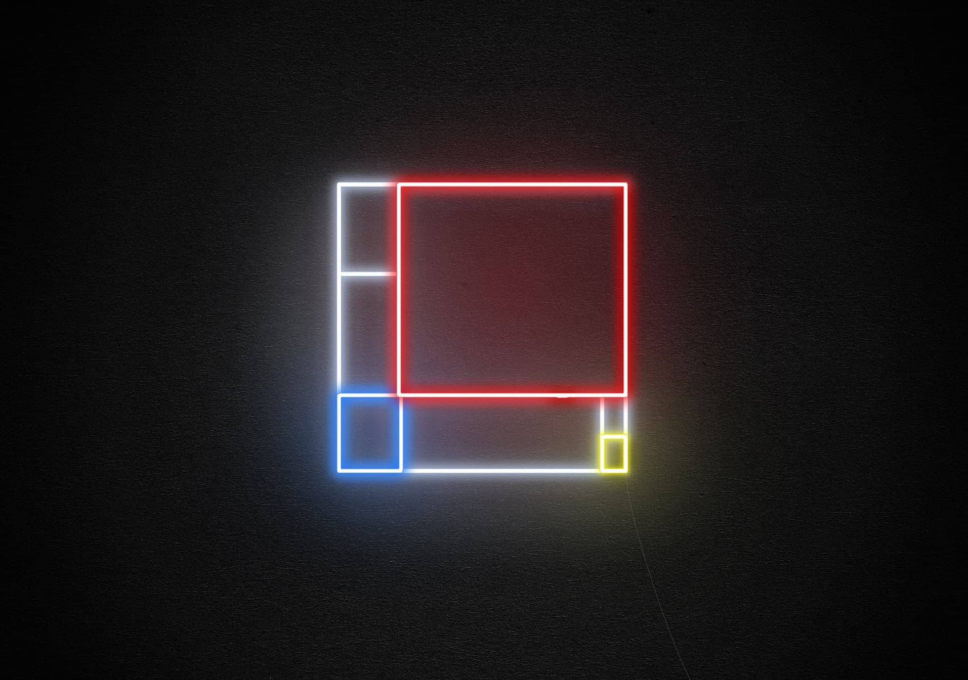 mondrian neon light