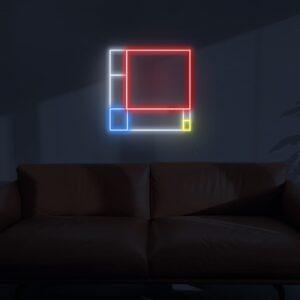 mondrian neon signs