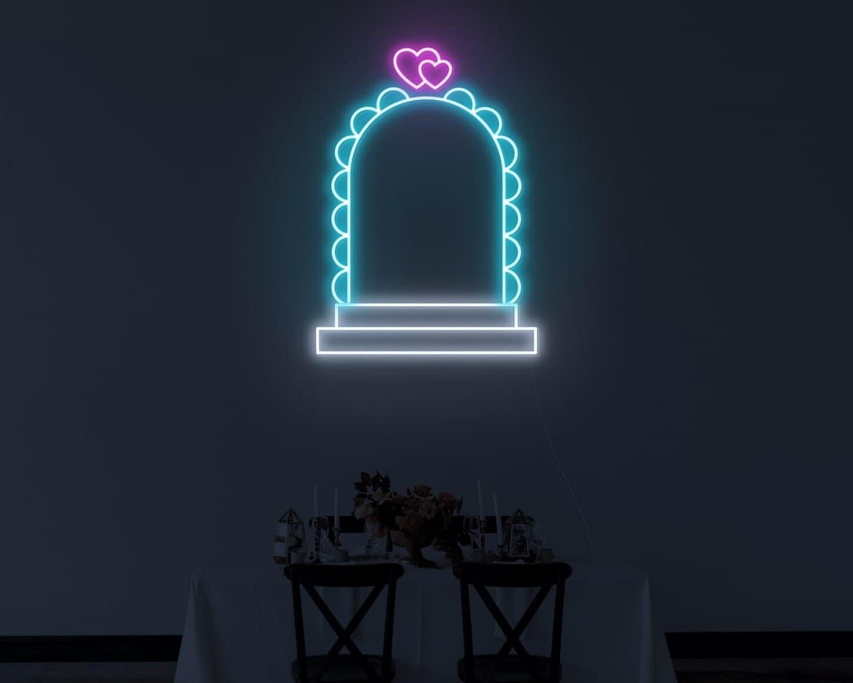 wedding aisle neon signs