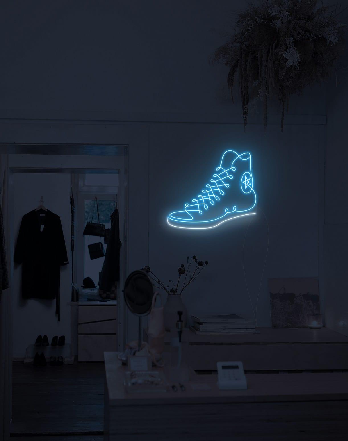 converse neon signs