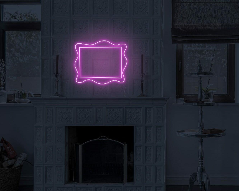 frame neon light