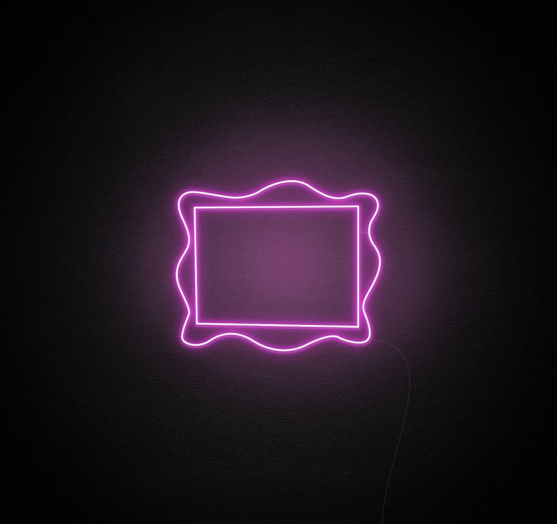 frame neon sign