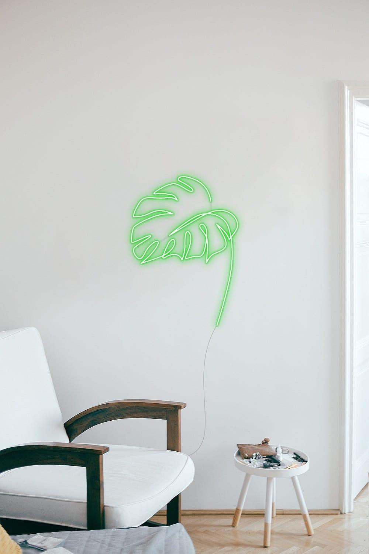 palm leaf neon signs