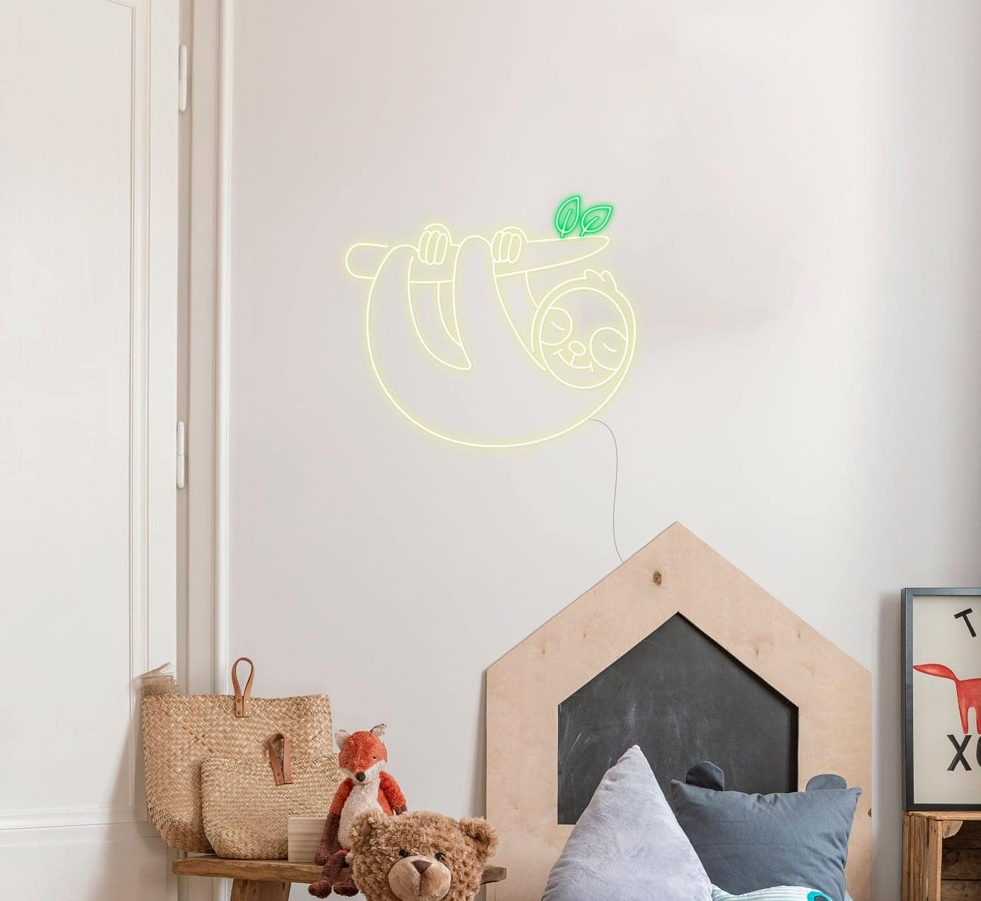 sloth neon signs