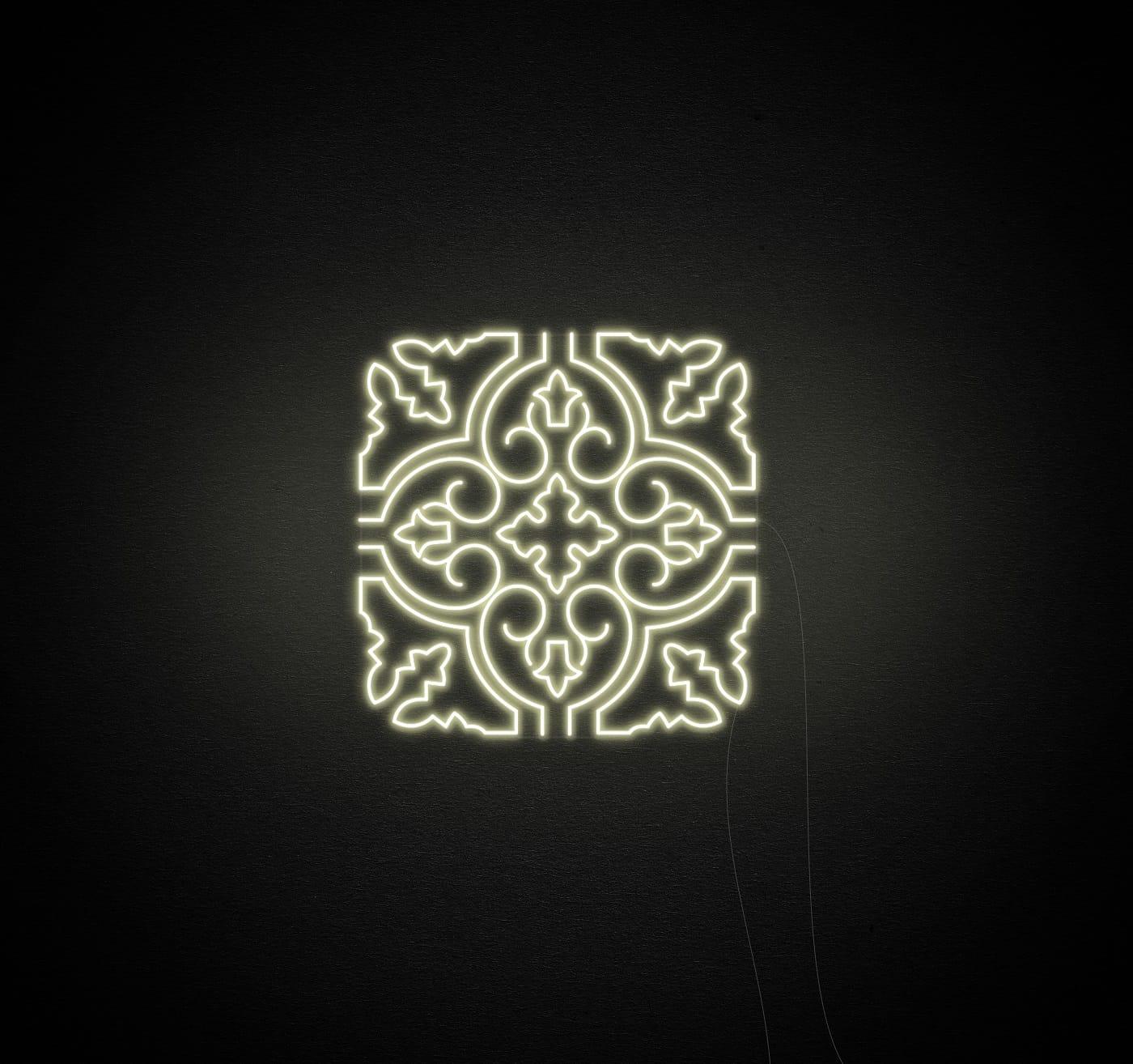 tile neon light
