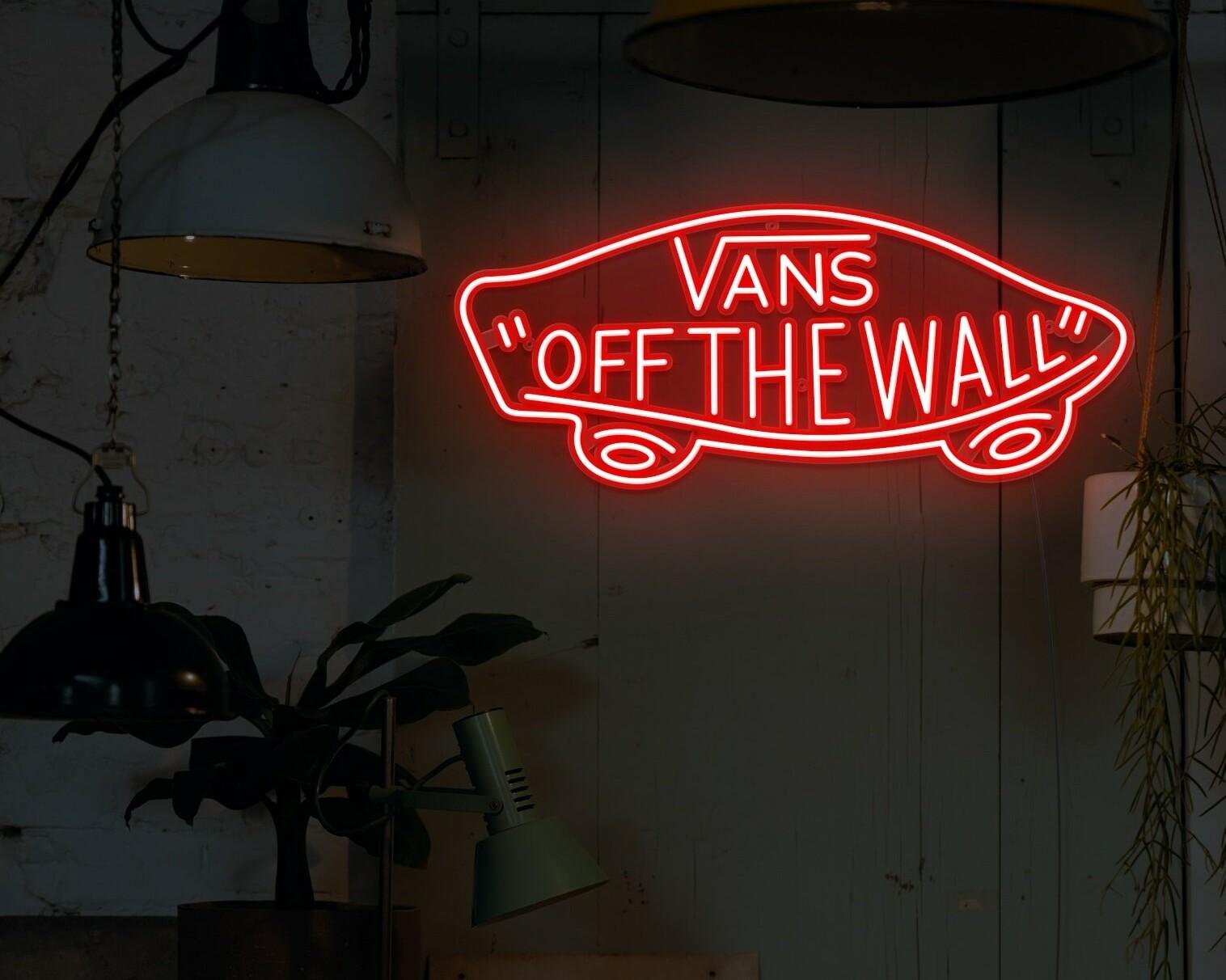vans neon signs