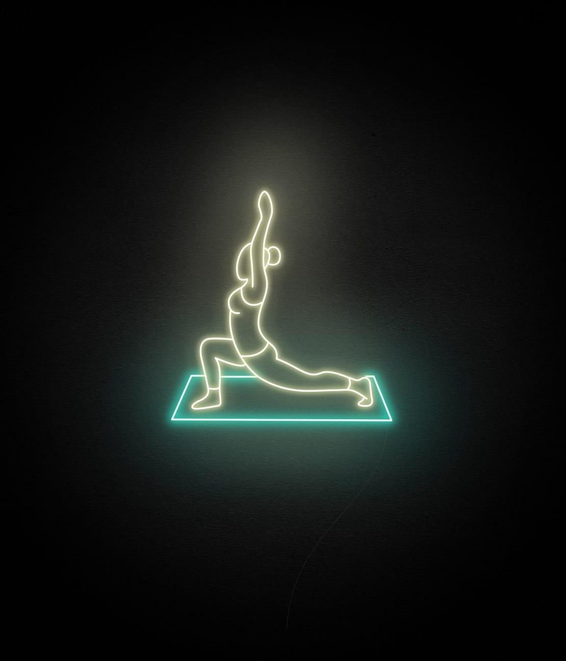 yoga neon light