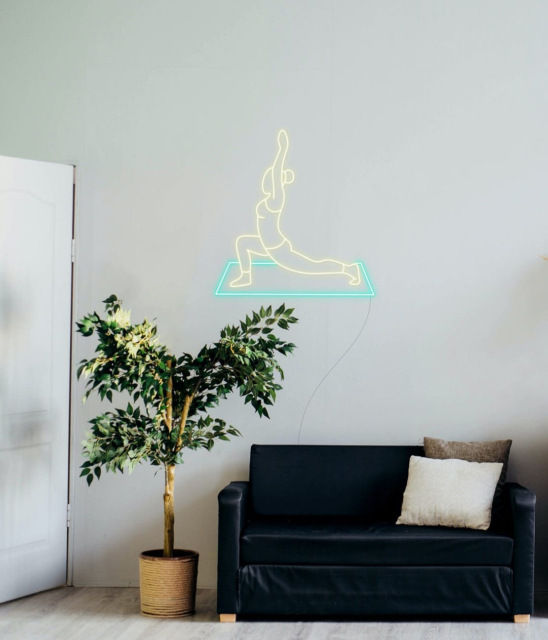 yoga neon signs