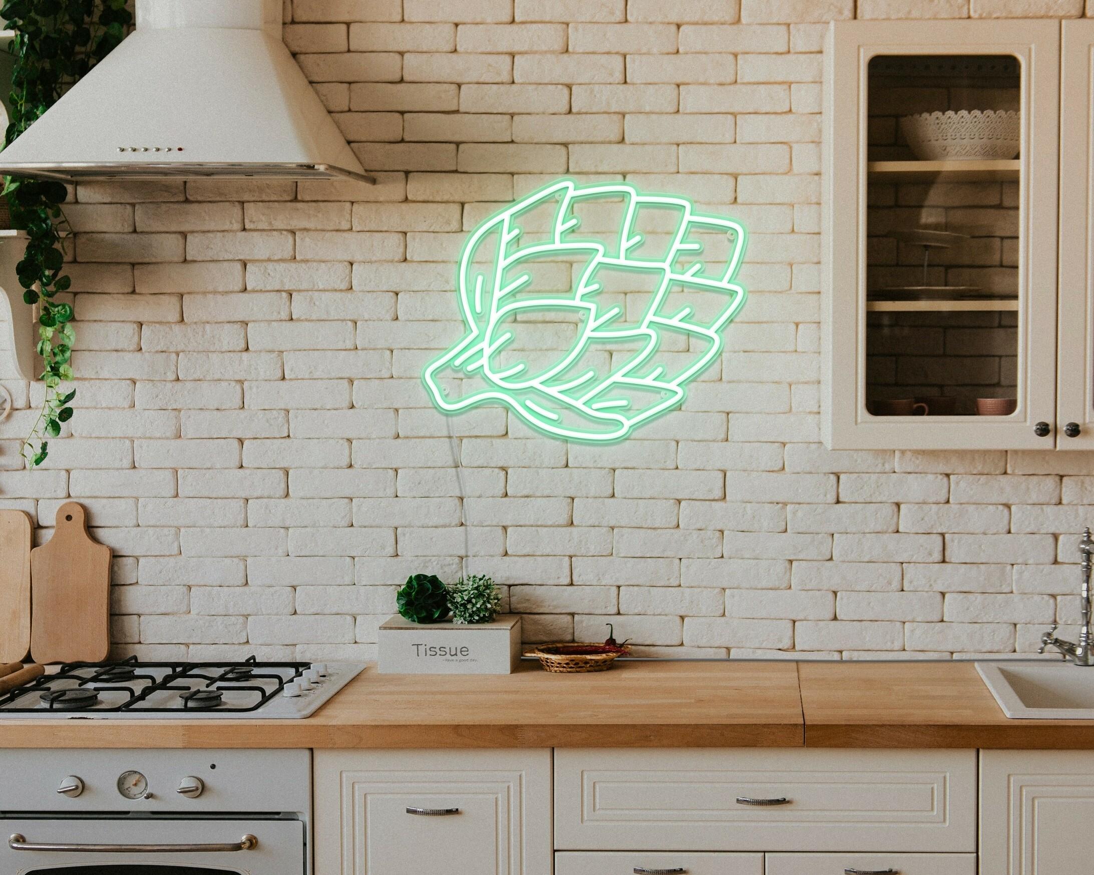 Artichoke neon sign