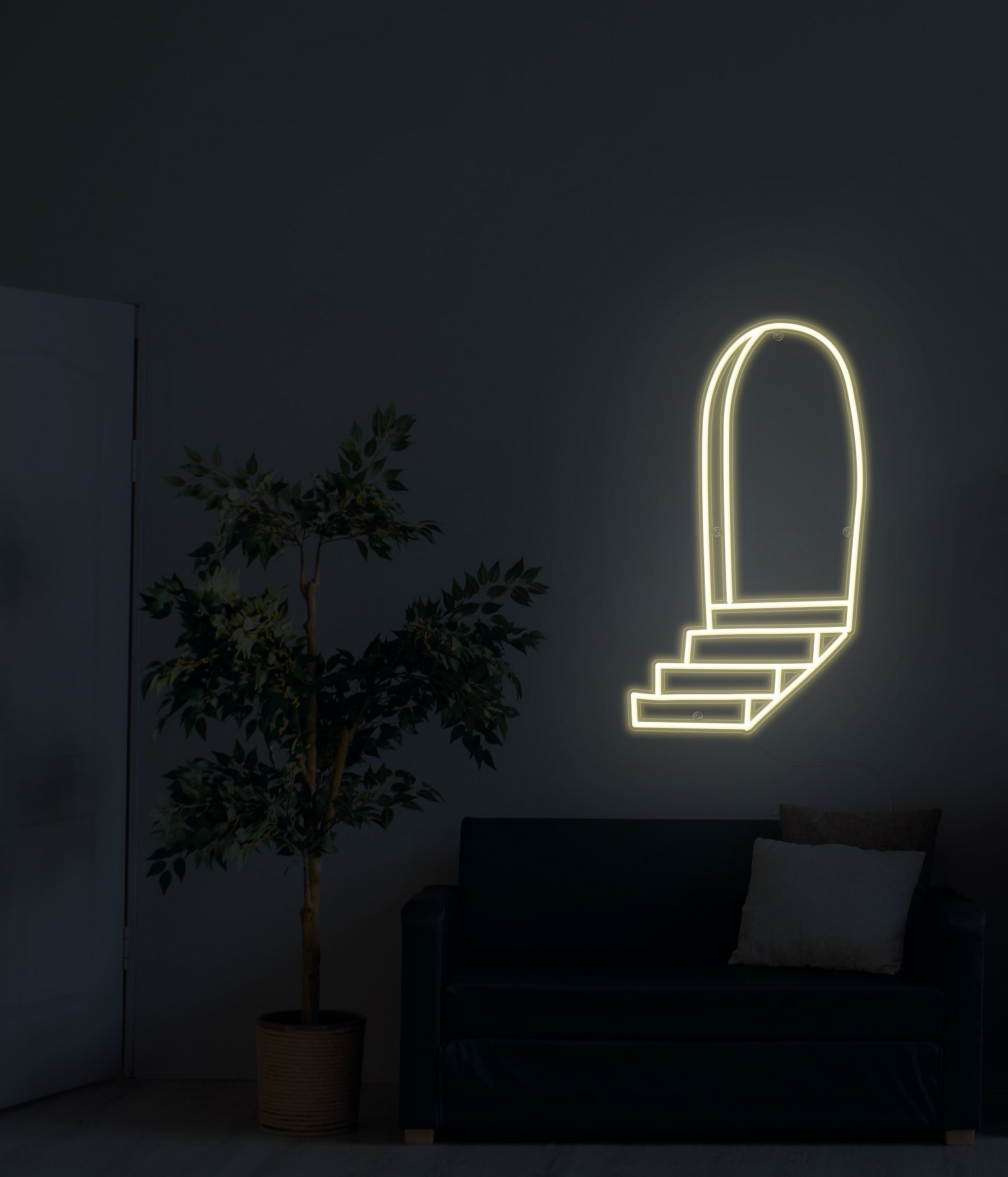 Grand Entrance neon light