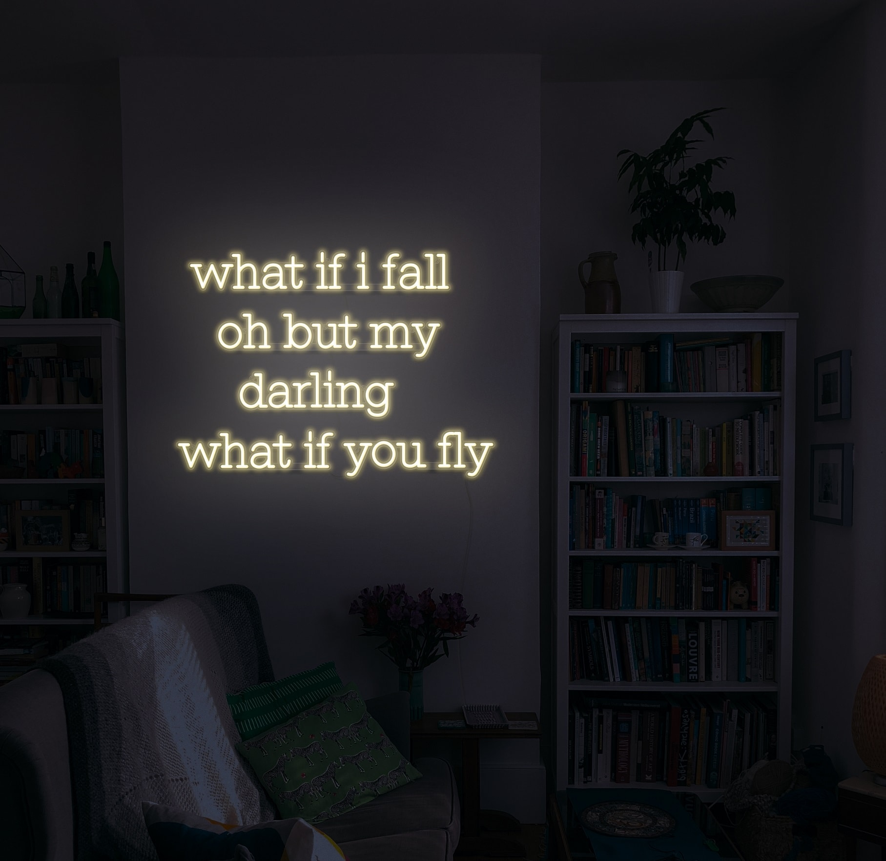 what if you fly neon light
